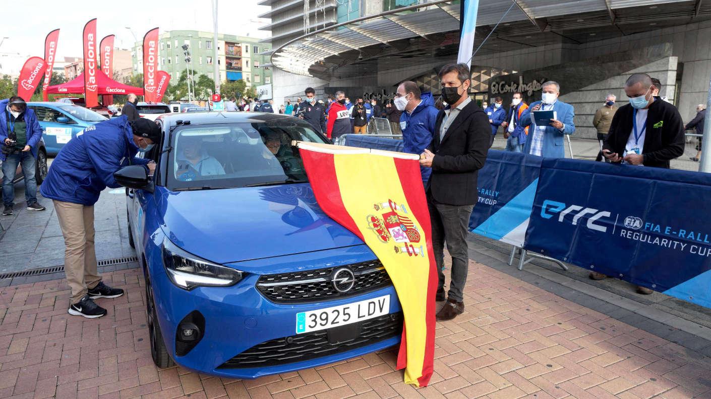Opel Corsa-e, кубок FIA ERRC 2020
