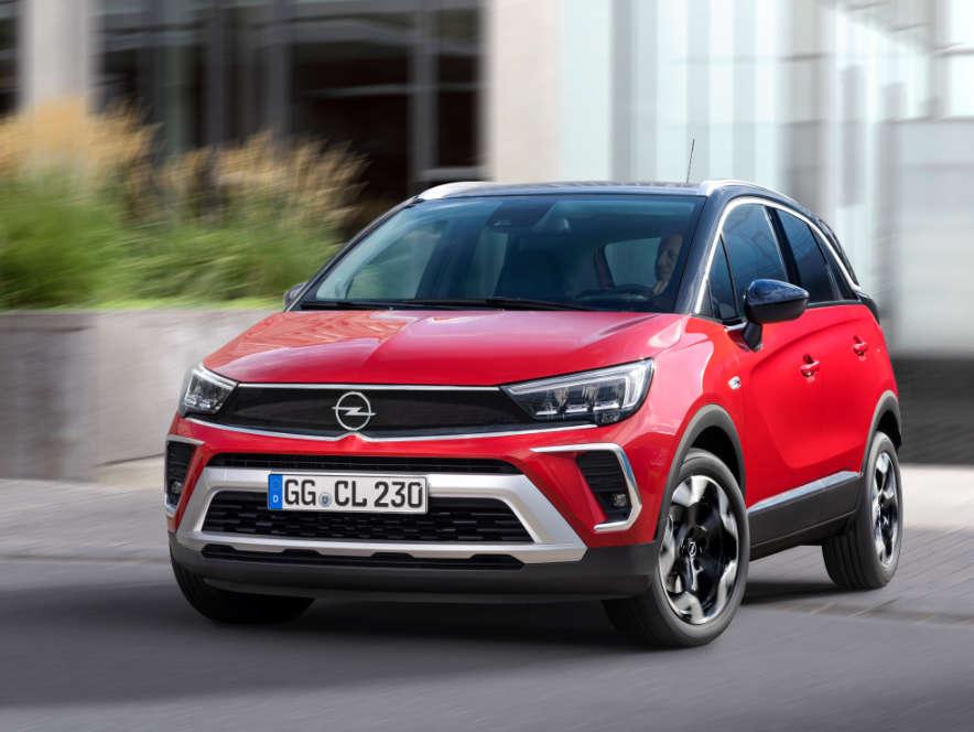Opel Crossland, вигляд спереду
