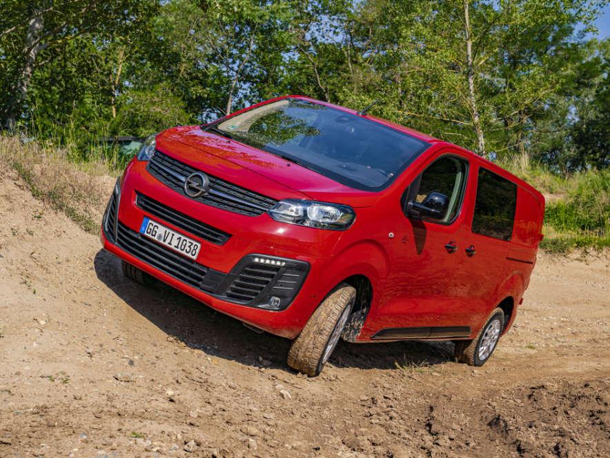 Фургон Opel Vivaro, вигляд спередуу