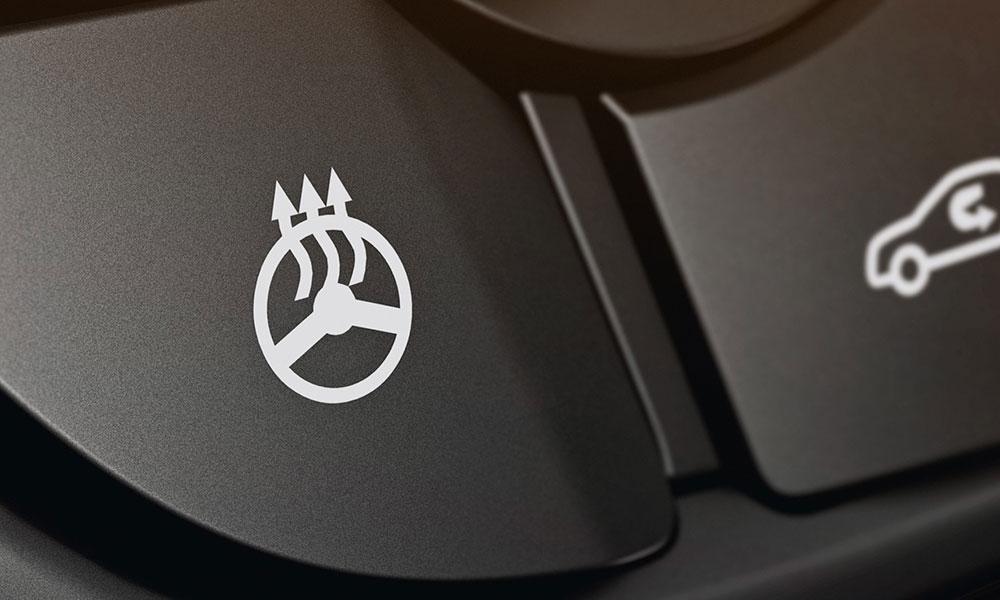 Opel Astra, підігрів керма