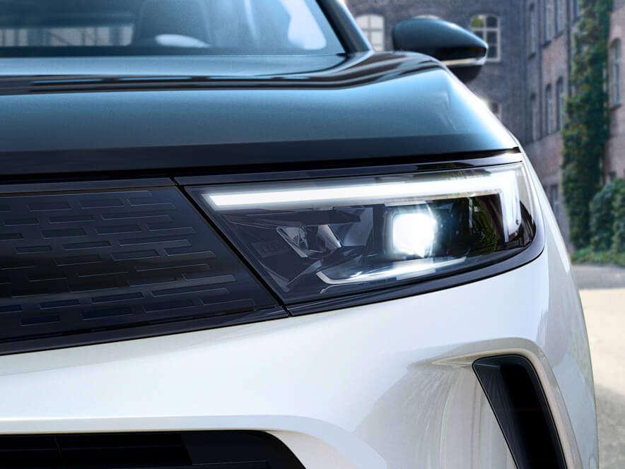 Opel, Mokka, світлодіодні матричні фари